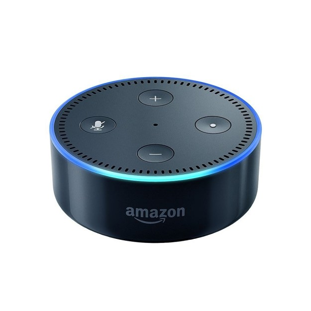 Having roommate troubles? Get yourself one who never talks back and is just generally really helpful: Amazon Echo Dot.