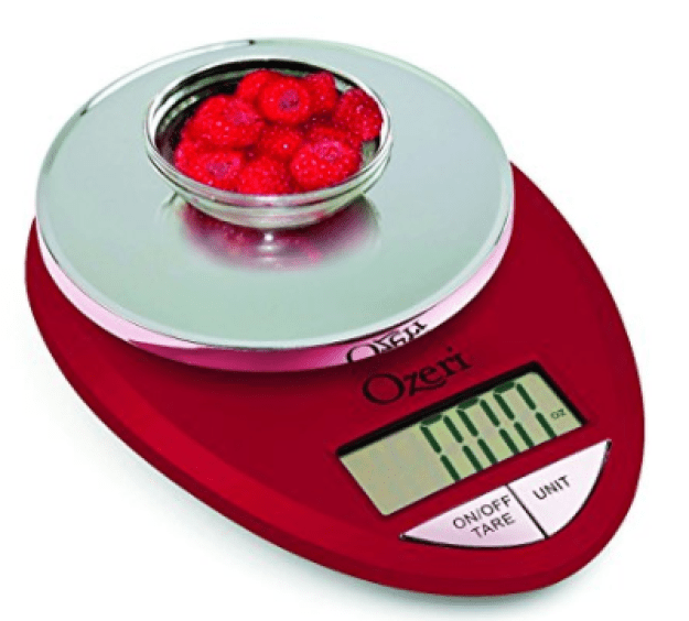 Buy a food scale if you're the worst at eye-balling portions.