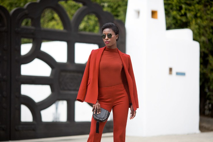 Deddeh Howard is a 27-year-old model, medical student and fashion blogger raised in Liberia but living in Los Angeles.