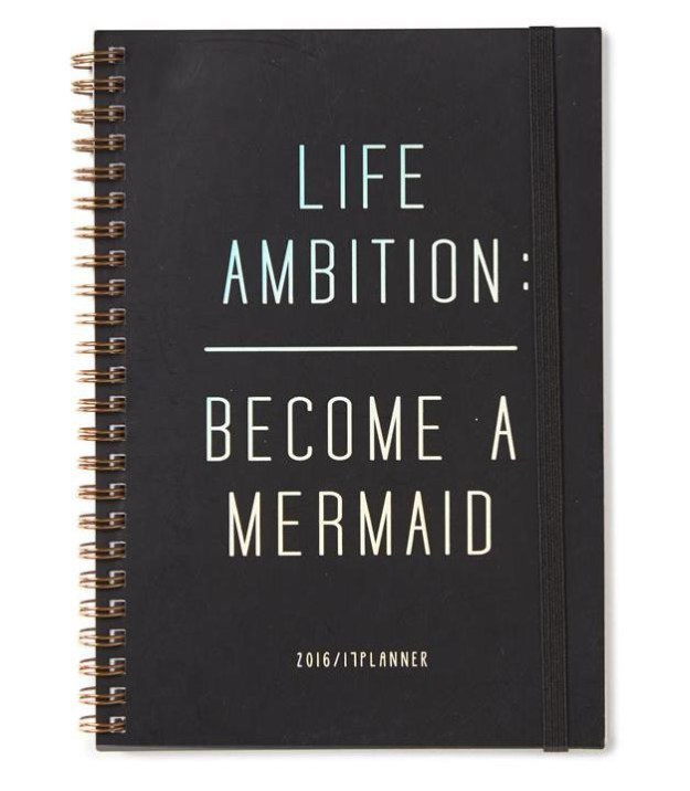 A planner for wannabe mermaids.