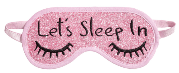 An eye mask for someone whose weekend plans usually just involve sleeping (a lot).