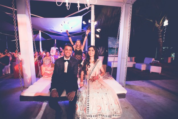 Meet Astha & Abhishek Jain, who recently tied the knot in a gorgeous wedding in Goa.