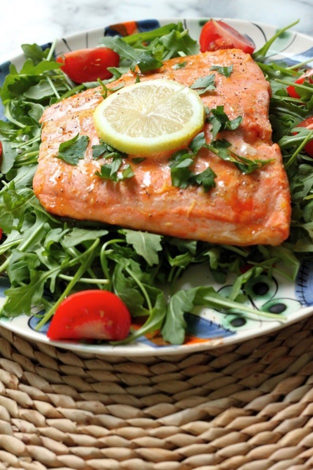 Tabasco & Honey Roasted Salmon