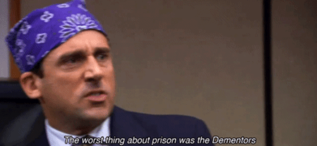 When Michael talked about being locked up: