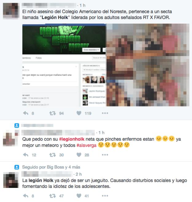 Buscando responsables e indagando sobre el tema, usuarios de Twitter acusaron a una supuesta secta de ser la responsable.