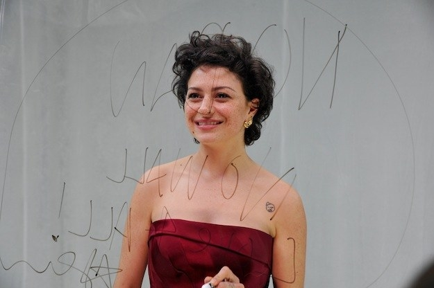 """When Alia Shawkat took the stage to present and said, """"As-salamu alaykum,"""" an Arabic greeting that means, """"Peace be with you."""""""