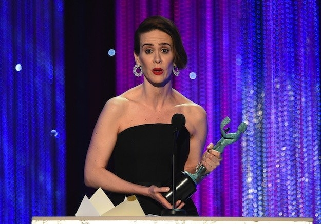 When Sarah Paulson urged anyone who can afford it to donate to the ACLU.