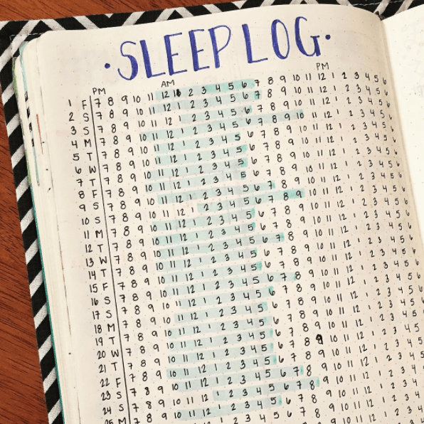 This sleep tracker to make sure you're getting enough Z's: