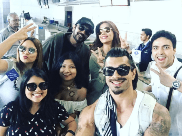 For his birthday, she took Karan and all of their friends for a vacation in Goa.