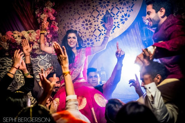 """We had lots of family performances and it was just the way we wanted,"" Meghna told wedding blog Wed Me Good."