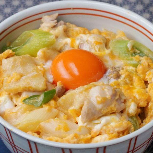 トロトロ卵の親子丼