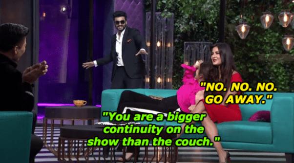 When Arjun Kapoor received a warm welcome from Anushka Sharma and Katrina Kaif.