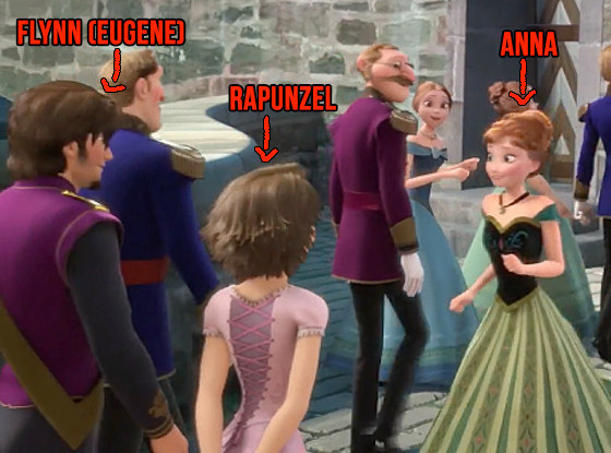 One big — and pretty sad — one is the reason why Rapunzel and Flynn attend Elsa's coronation.