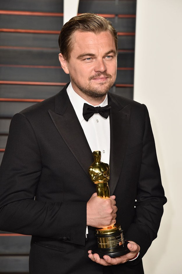 Anyways, let's take a trip down Leo memory lane. Here he is in 2016 finally getting the Oscar he deserved years before: