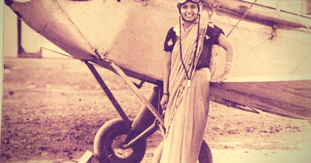 Captain Prem Mathur — the first woman pilot in India.