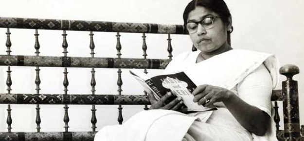 Sucheta Kriplani, the first woman chief minister in India.