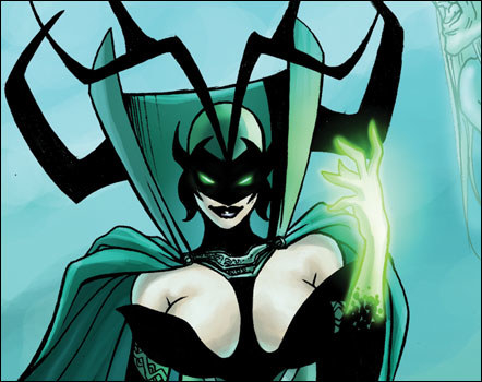 The new Thor: Ragnarok trailer is out and the queen of everything (Cate Blanchett) makes her appearance as Hela, the goddess of death.