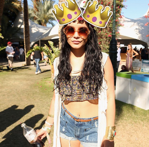 As we all know, Vanessa Hudgens owns Coachella every year, and the festival truly doesn't start until she arrives.
