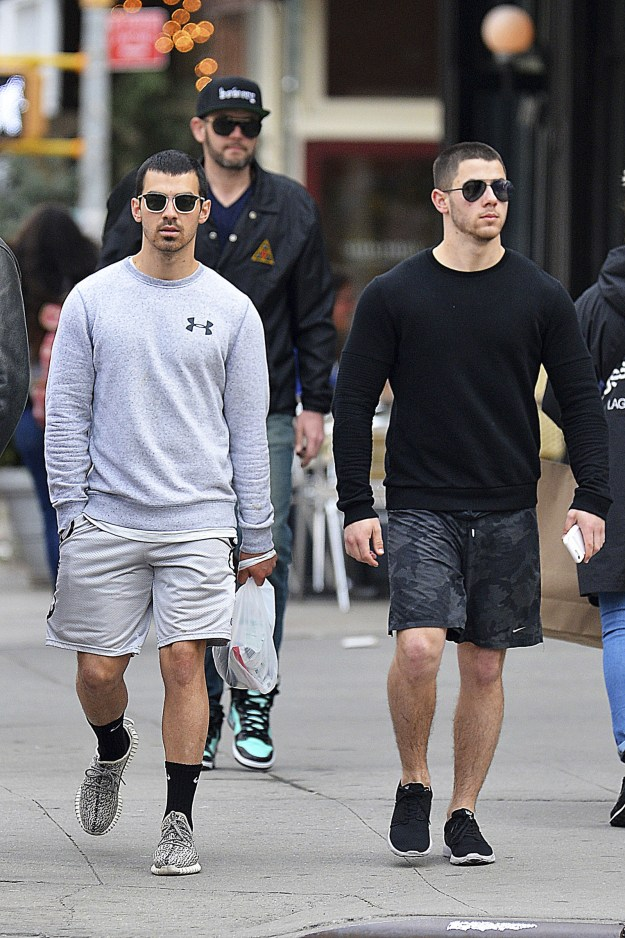 But the most mysterious, breath-taking, brilliant, incredible, amazing, show-stopping, spectacular, never the same, and totally unique natural World Wonders of the Earth are Nick and Joe Jonas: