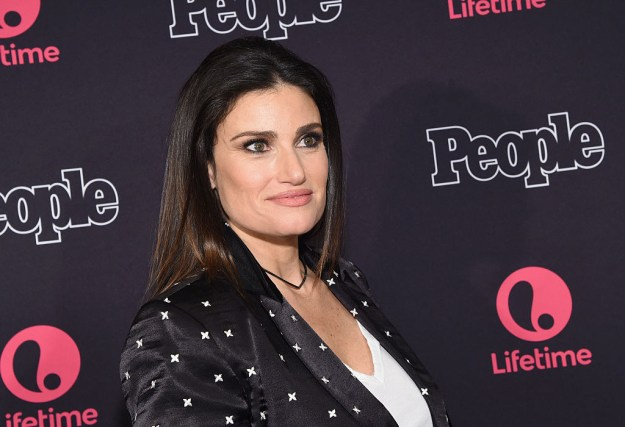 The obvious choice for Elphaba was Idina, reigning queen of Broadway and also of Frozen, but apparently she's been told that she's ~too old~.