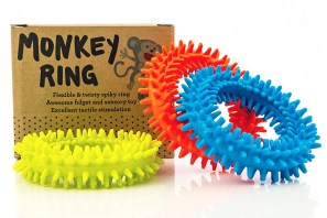 This flexible BPA-free thermoplastic rubber fidgeter can be twisted, tugged, and even worn as a bracelet. $11.99 for 3.