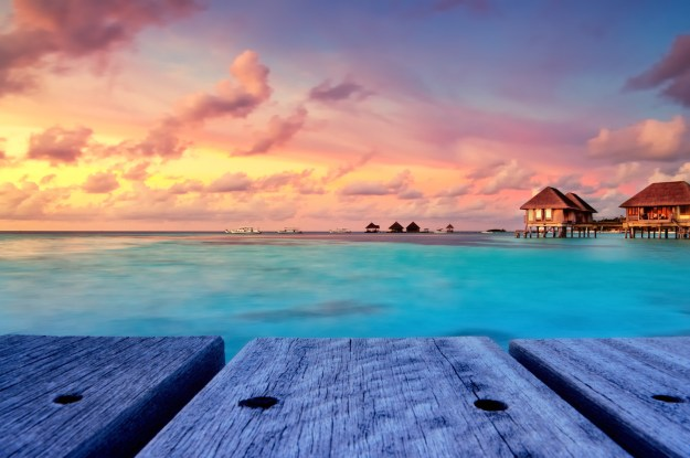 Travel to the Maldives.