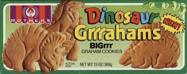 Dinosaur Grrrahams