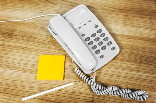 And we had to connect through the phone line. THIS kind of phone: