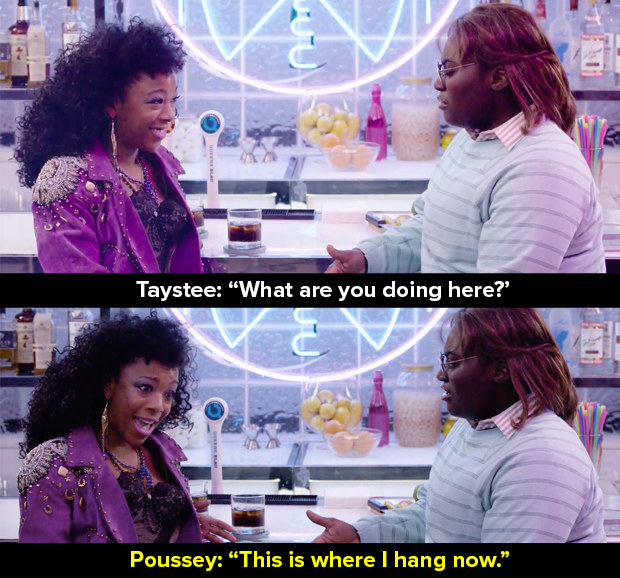 Poussey and Taystee then get right down to business.
