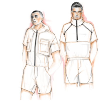 Meet the ReeRomp, the athleisure romper by Reebok, made for the active man.