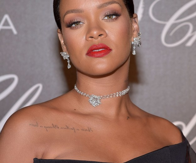 It might be film festival season in Cannes, but once Rihanna got to town, the conversation quickly switched.
