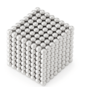Don't be fooled by the photo, it's not a cube of ball bearings (okay am I the only person who thinks it looks like that?) The Magnetic Fidget Sphere is actually more like silly putty made out of rare earth magnets (which again, are dangerous if ingested, but feel so nice.) $25