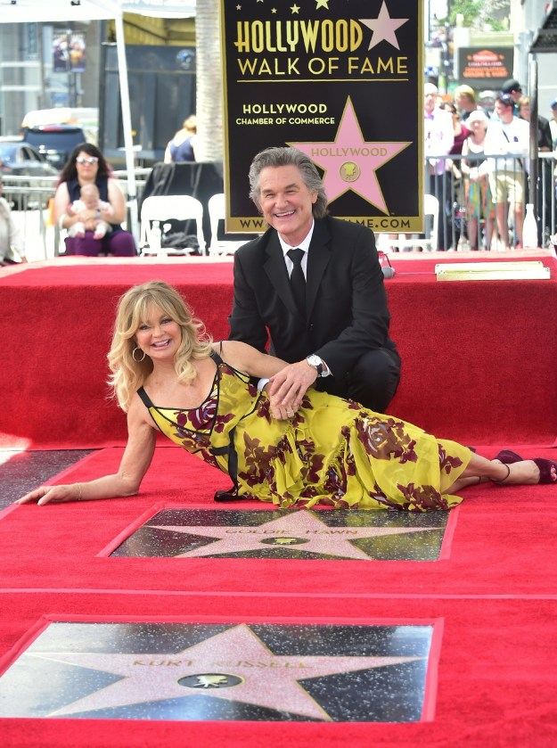 The double ceremony revealed that their stars are right next to each other. Aw!