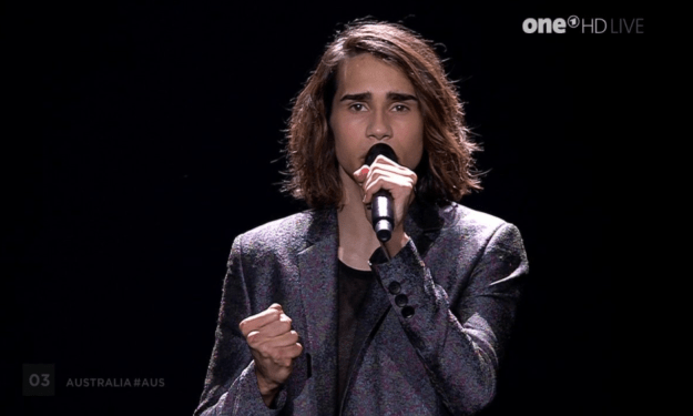 Isaiah Firebrace has made it through to the Eurovision finale, to be held this weekend.
