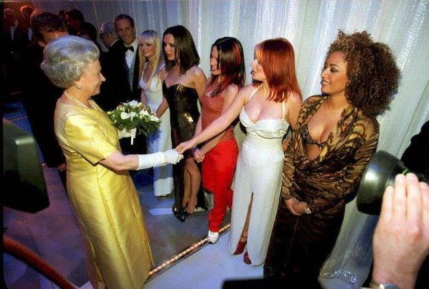 In the 1990s, the Spice Girls were the most famous pop group in the world. Like, chill-with-the-Queen famous.