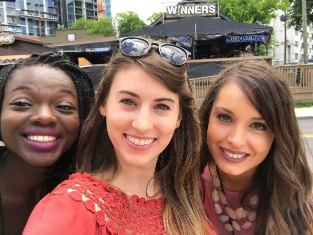 Hey y'all! We are Selorm, Farrah, and Krista, and we all enjoy trying new things. We had the opportunity to chat with Miranda Lambert at CMA Fest, where she told us her favorite restaurant in Nashville. So, obviously, we had to try it.