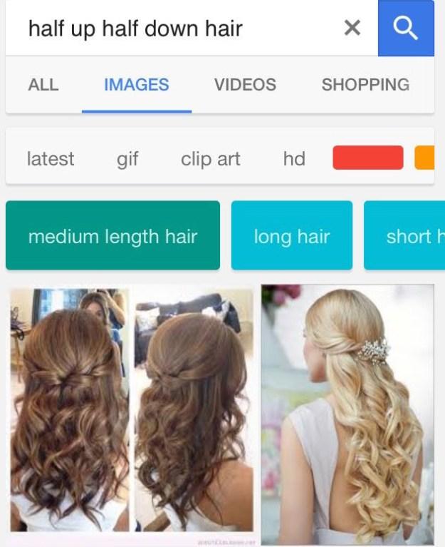 ハナが8歳のとき、従姉妹と通っていたダンス教室でグループ写真撮影の日があった。みんなおそろいの衣装で揃えるため、先生が母親たちにリクエストした髪型は「ハーフアップ、ハーフダウン」というもの。