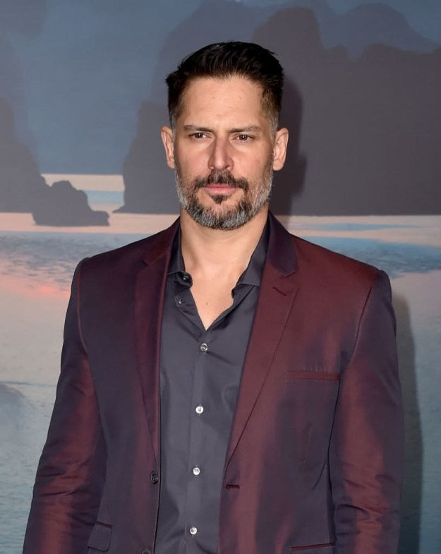 This is Joe Manganiello and despite what it looks like here, he hates wearing shirts. DON'T BE FOOLED!