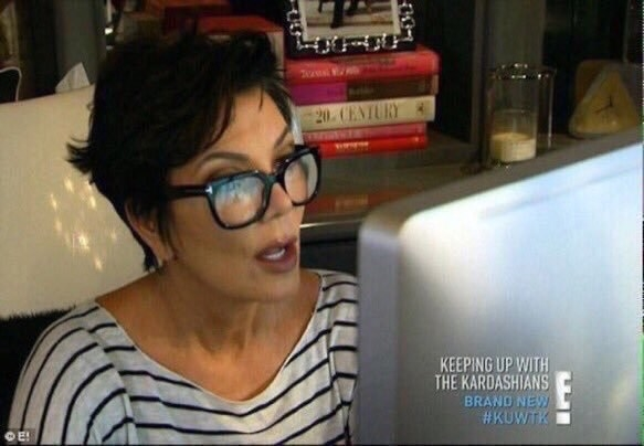 Earlier today I was scrolling through Instagram. I follow all the Kardashian-Jenner ladies (except Caitlyn because she's problematic and Kendall because she's boring). So imagine my surprise when I scrolled past a picture...and literally couldn't tell who it was.