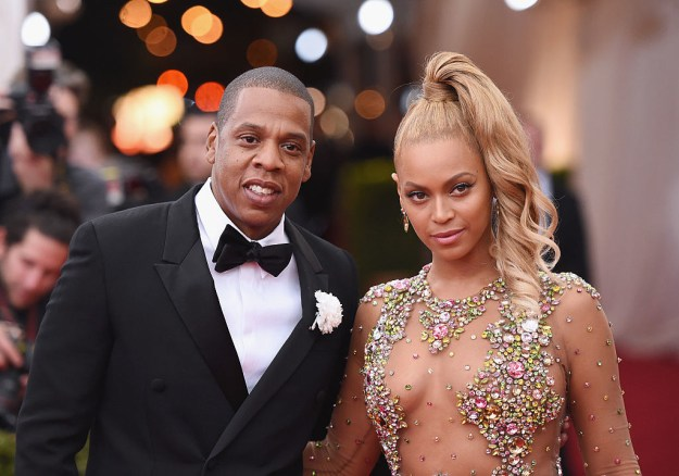 This is Beyoncé Knowles-Carter, multihyphenate superstar with her fellow multihyphenate superstar husband, Shawn Carter, aka Jay Z.