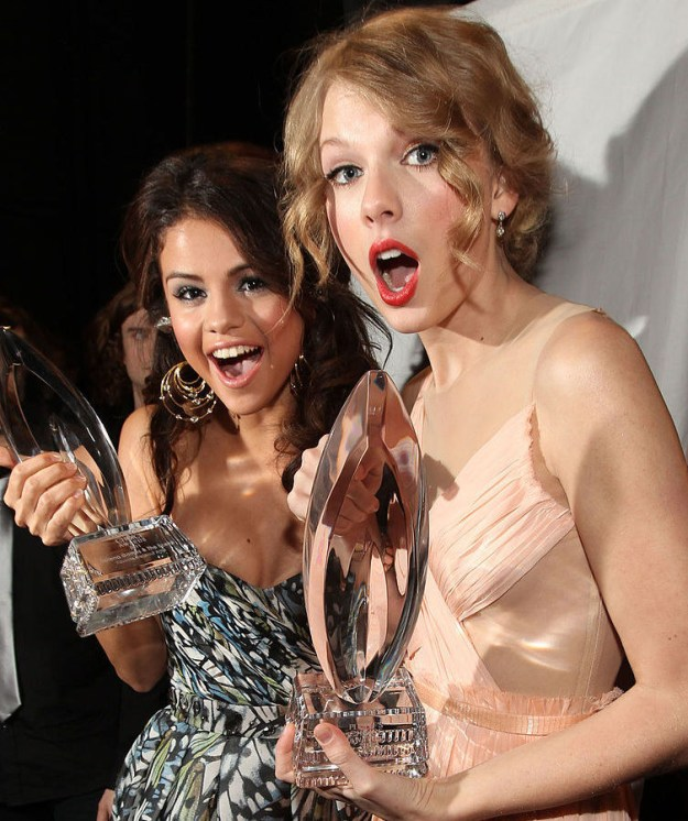 We're all very aware that Taylor Swift and Selena Gomez have been best friends for years, yes?
