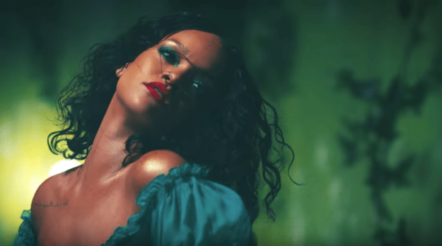 """The song includes a sample from Santana's """"Maria, Maria"""" and features Bryson Tiller and Rihanna. But most importantly, Rihanna."""