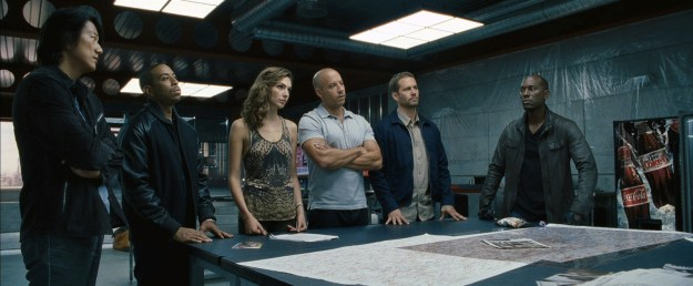 Before she landed the role of Diana, Gal appeared in several Fast & Furious films with Vin.
