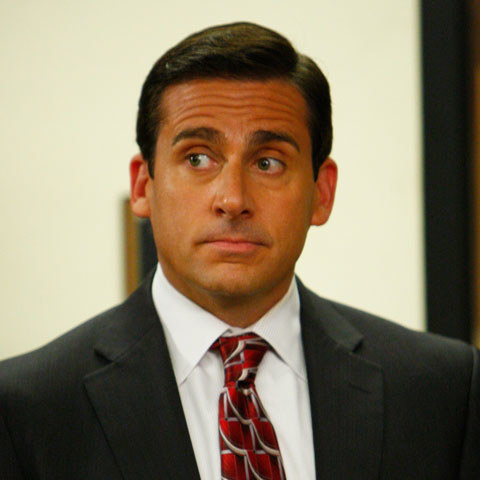 When people think of Steve Carell (as one does) they probably imagine his portrayal of Michael Scott in The Office, where he looked a little something like this.
