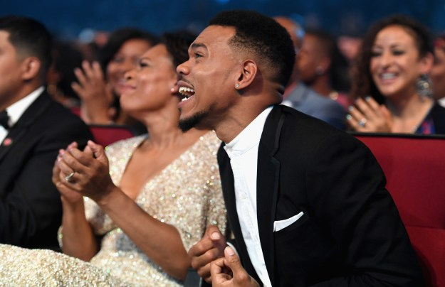 """Chance took home the Best New Artist award, and it was a beautiful moment even though some people started questioning the meaning of """"new artist"""":"""
