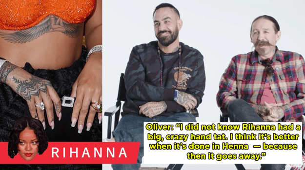 Rihanna's hand tat should have been a Henna.