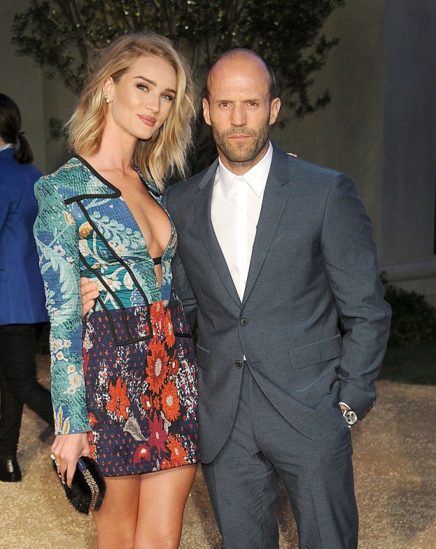 Rosie Huntington-Whiteley and Jason Statham are one of the most badass, attractive, funniest couples in Hollywood.