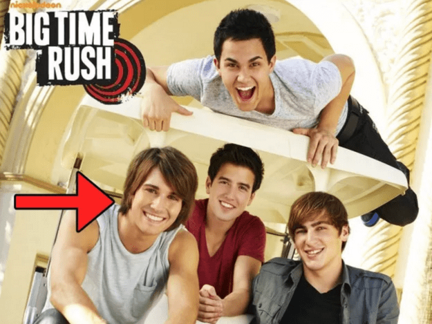 Remember James Maslow from Nickelodeon's Big Time Rush? Ya know, the one with the good smile and a bob?