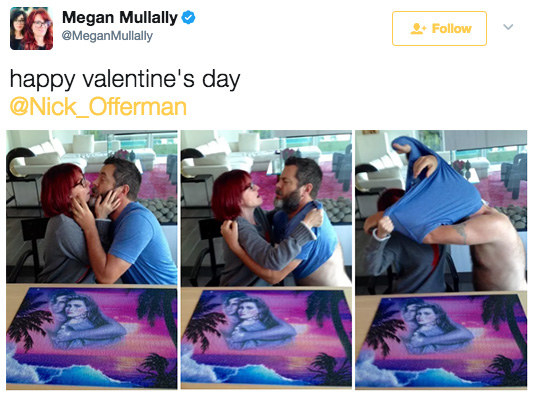 "For obvious reasons, their most iconic puzzle of all was ""Magic Moments."" The pics made for the perfect Valentine's Day greeting in 2016..."