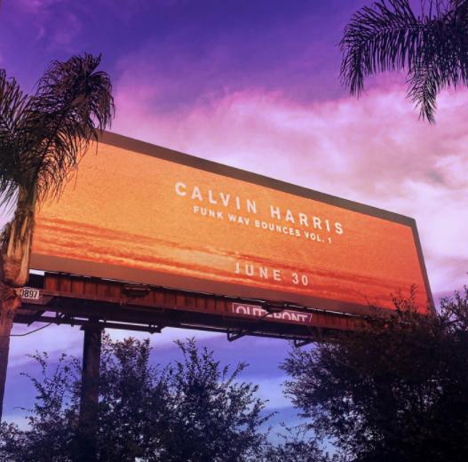 Calvin Harris just released his new album Funk Wav Bounces Vol. 1!!!!